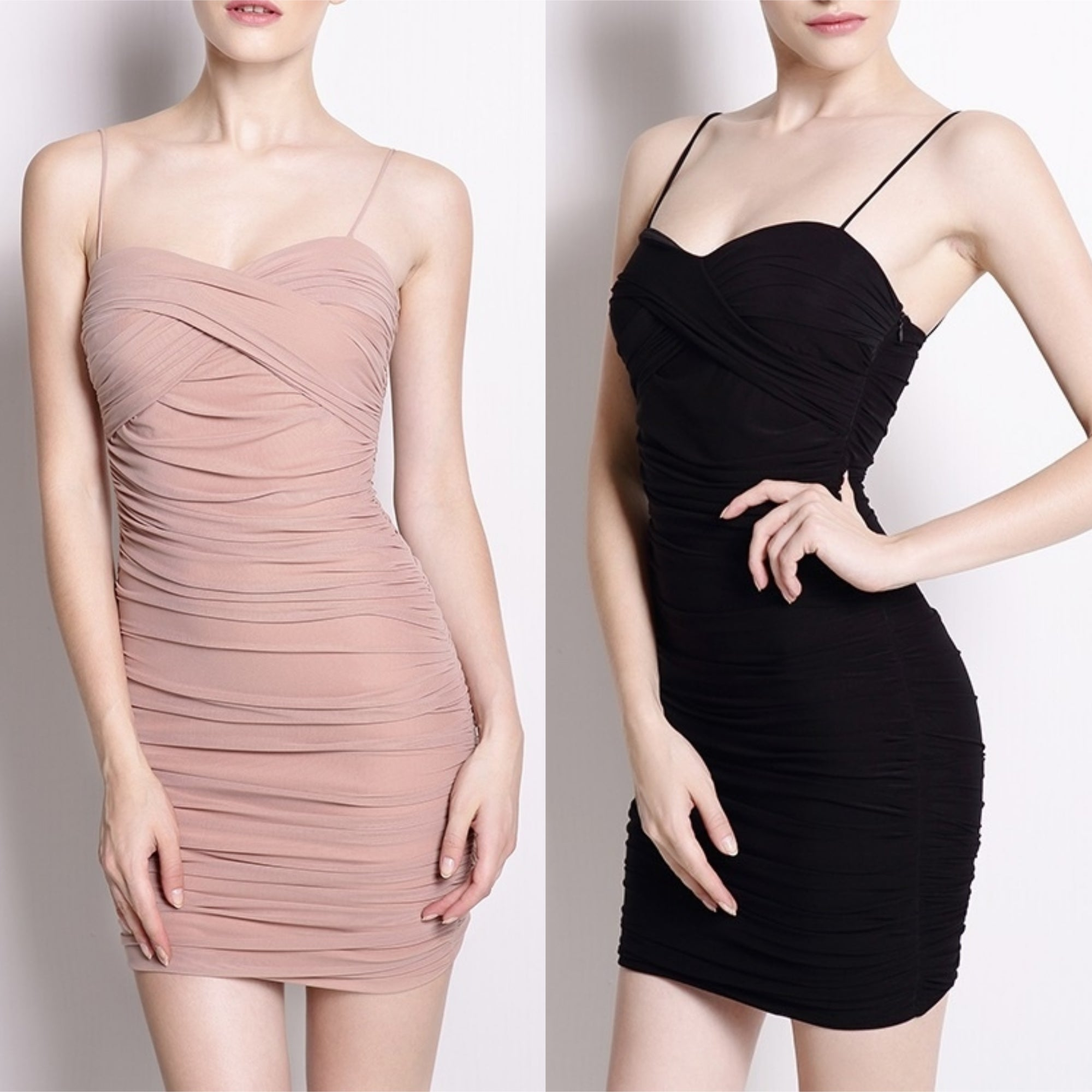 Spaghetti Strap Allure Bodycon Dress