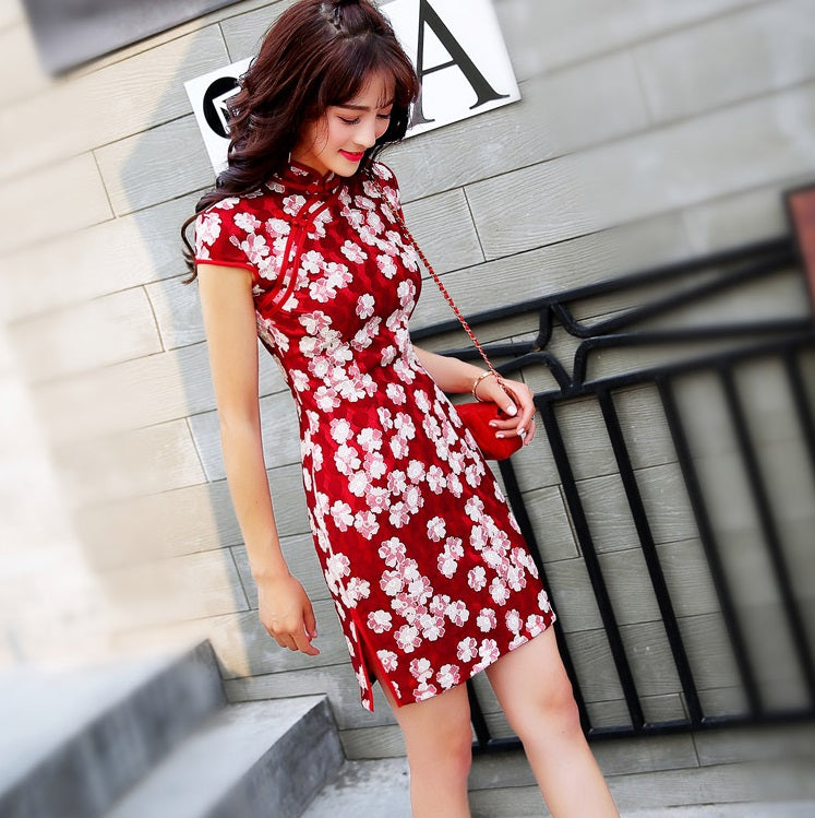 Spring In Full Bloom Cheongsam