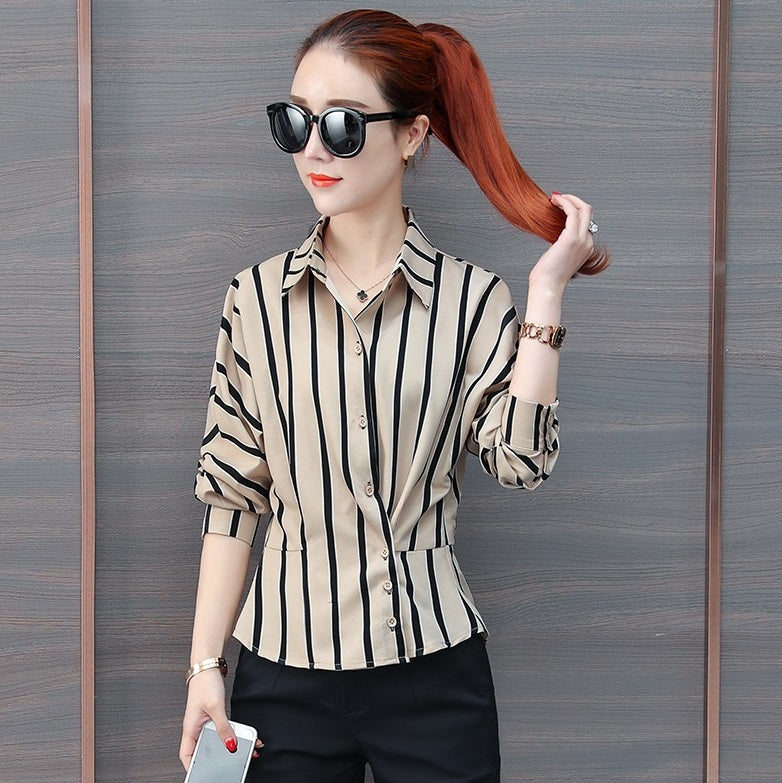 Liv Striped 3/4 Sleeve Top