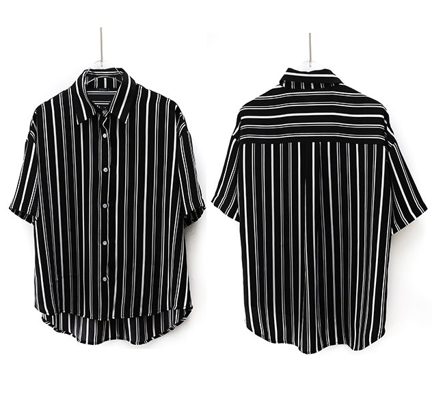 Valencia Vertical Stripes Shirt