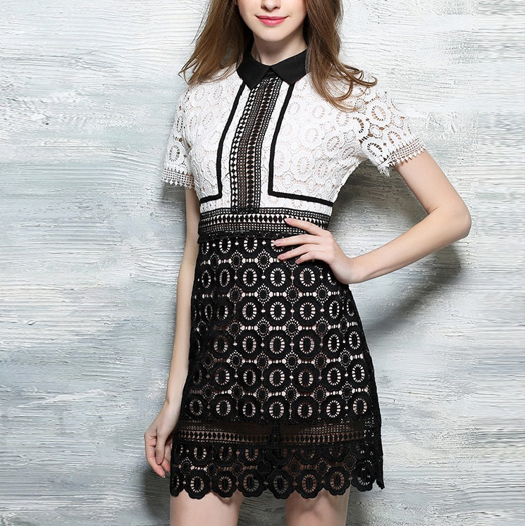 Oralee Lace Fitted Dress
