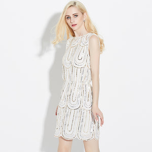 Petra Midnight Sequin Dress