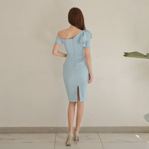Celeste One Shoulder Bodycon Dress