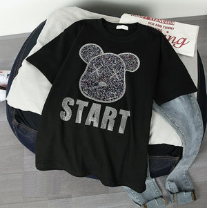 Tuffy Teddy Oversize Tee [ 3 colours available ]