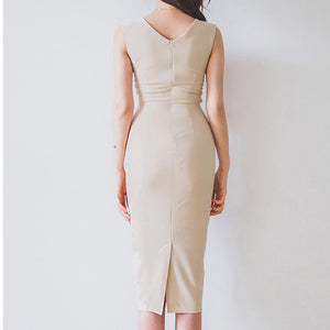 Maryllis Front Detail Bodycon Dress