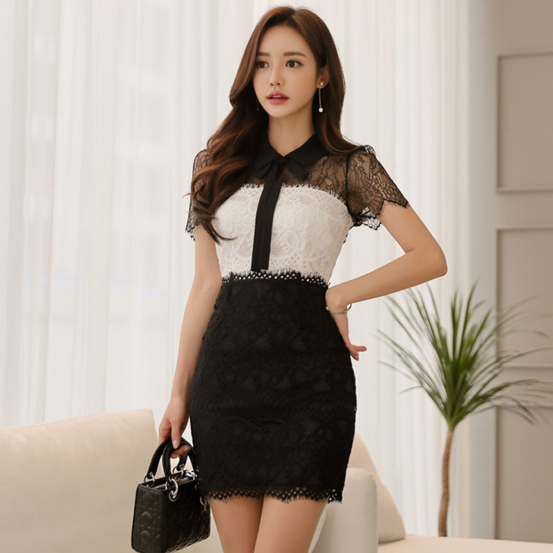 Rita Bodycon Lace Dress