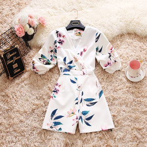 Chrysalis Bubble Sleeve Romper