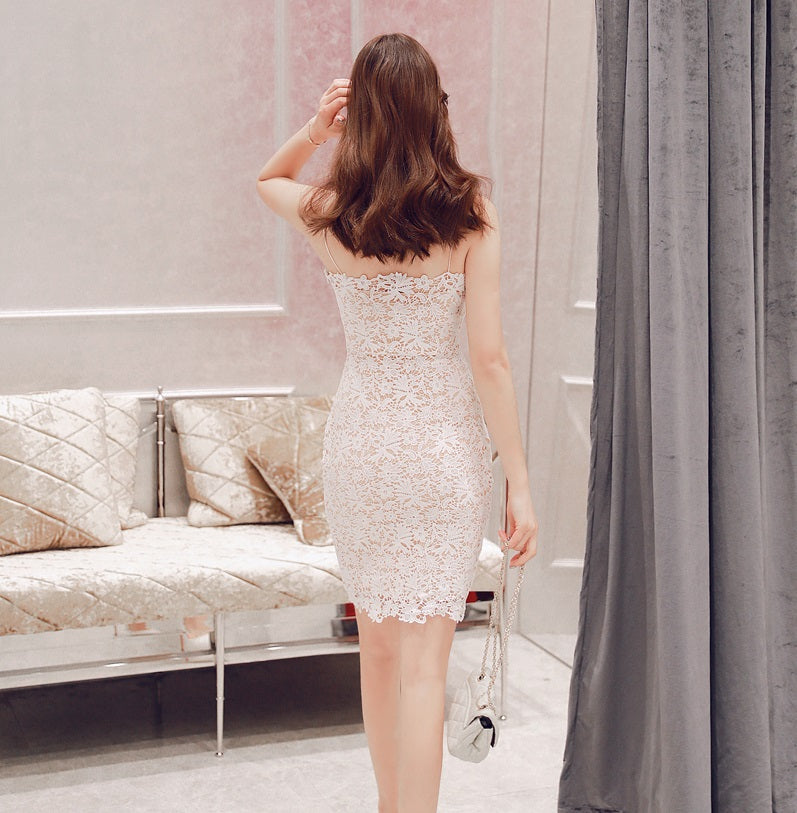 RaRa Delicate Lace Bodycon Dress