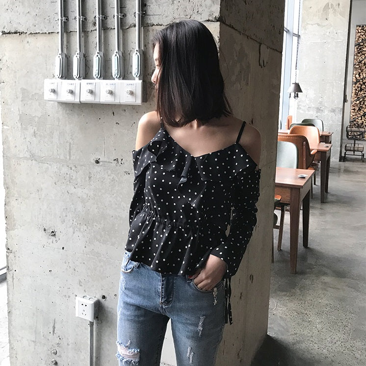 Macy Polka Dots Top