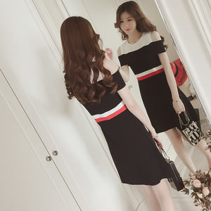 Claude Layer Knitted Dress