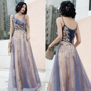 Theresa Lacey Floral Evening Gown