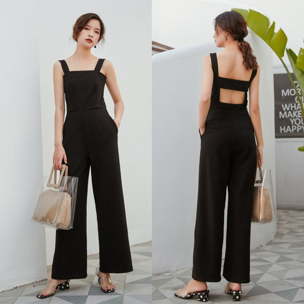 Nyla Open Back Jumpsuit