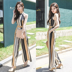 Willow Stripes Jumpsuit