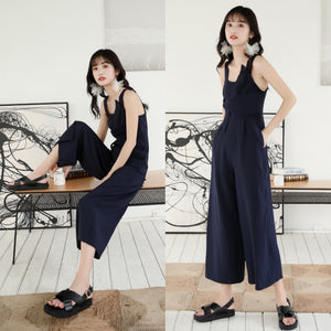 Jaquith Twist Bow Cullote Jumpsuit