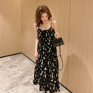 Elena Chiffon Midi Dress