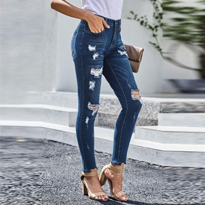 Cassandra Stylish Ripped Jeans
