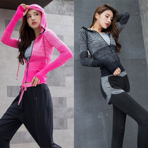 Viera Gradient Workout Jacket [4 colors]