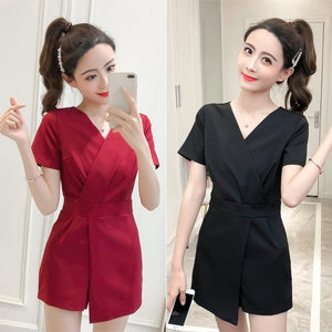 Neiley Short Sleeve Romper [ available in 2 colours ]