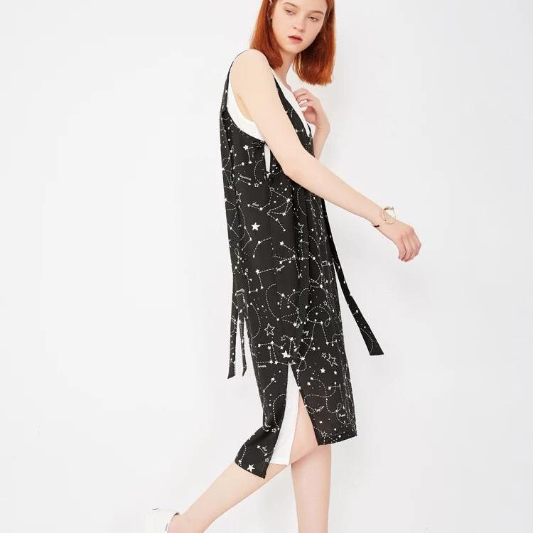 Underneath The Thousand Stars Pinafore [two piece set]