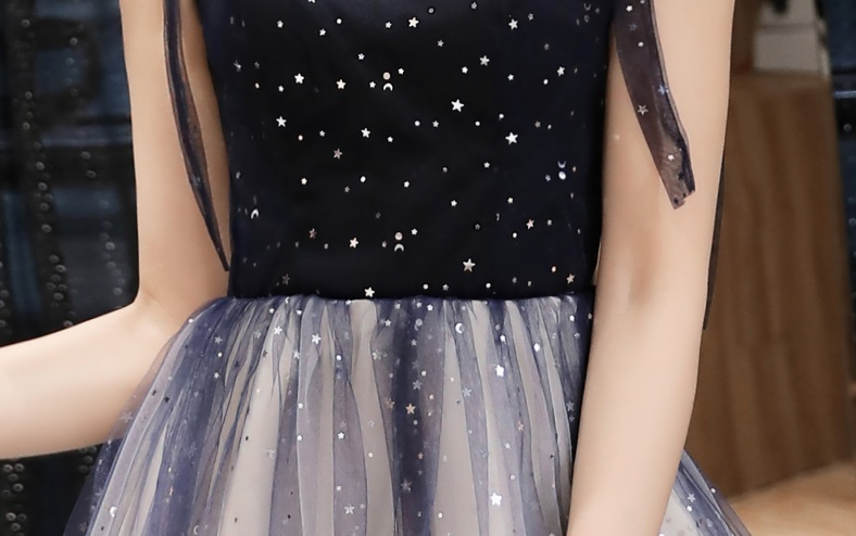 Lizza Starry Night Ombre Cocktail Dress