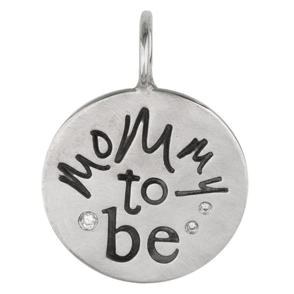 Mommy to Be Round Charm