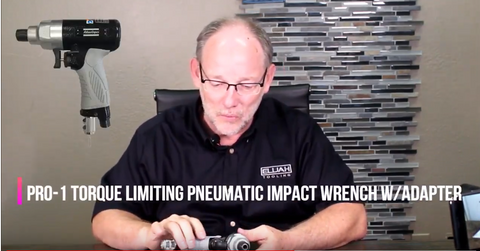 Pro 1 torque limiting pneumatic wrench