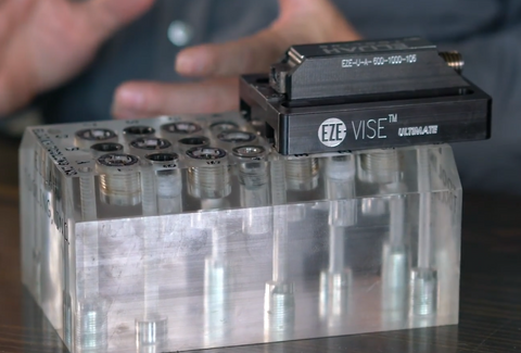 the best cnc workholding vise that is modular and works for 5 axis machining