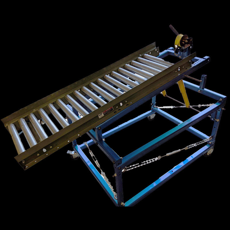 HEAVY DUTY LOADING CART FOR TRUNNION - Elijah Tooling, Inc.
