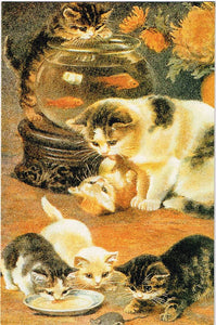 CAC 04 - A Frolicsome Family, Kittens Playing