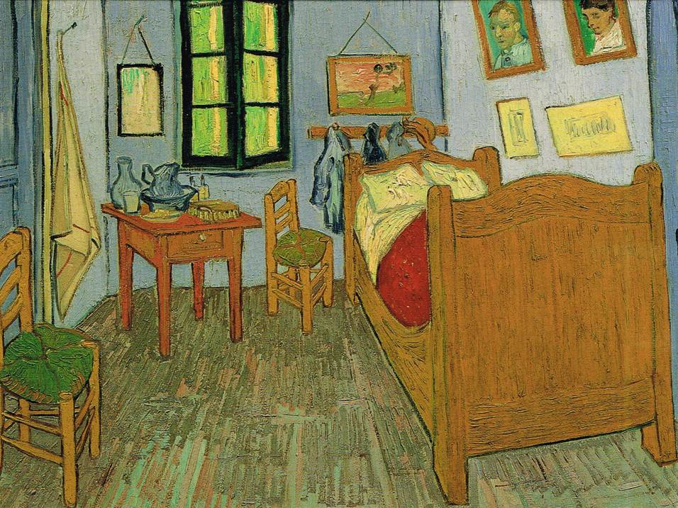 VGC 05 - Van Gogh's Bedroom in Arles