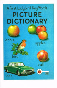 LB 20 - A First Ladybird Key Words Picture Dictionary