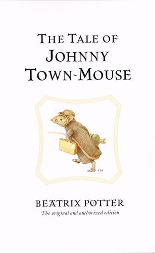 BP 26 - The Tale of Johnny Town-Mouse, 1918