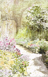 BP 47 - The garden of Harescombe Grange in spring, 1903