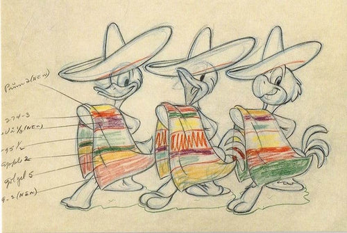 CTD 38 - The Three Caballeros, 1944