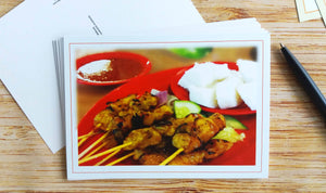 10 pieces - Satay