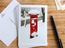 10 pieces - Postbox in Winter