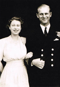 QE 05 - Elizabeth and Philip, 1947