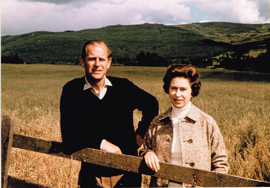QE 12 - The Queen and the Duke of Edinburgh, 1972