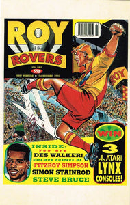 RR 100 - Comic Cover from 21st November 1992