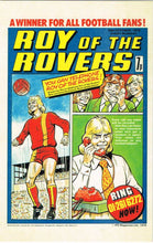 RR 14 - Comic Cover from 30th October 1976