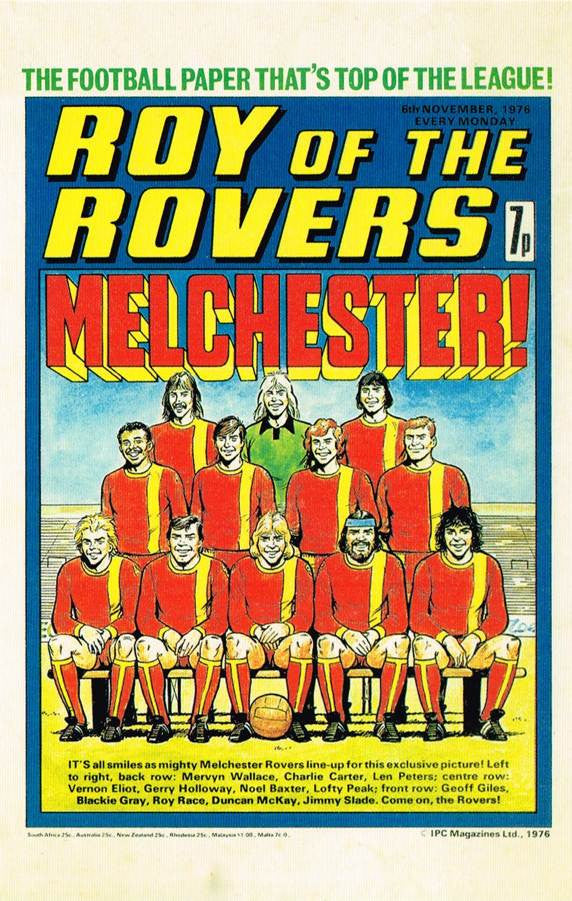 RR 15 - Comic Cover from 6th November 1976
