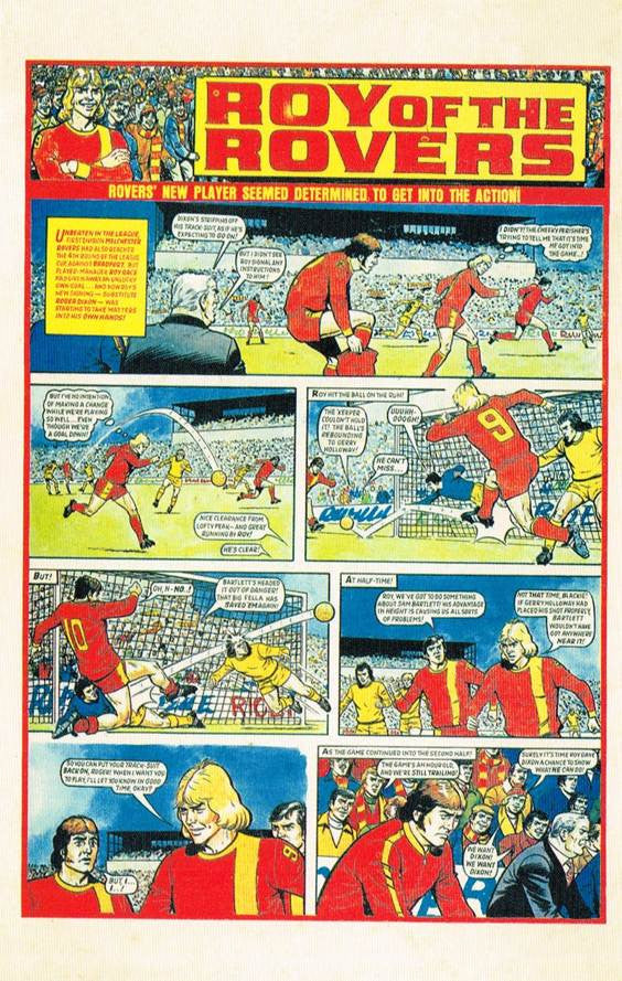 RR 18 - Comic Strip from 4th December 1976