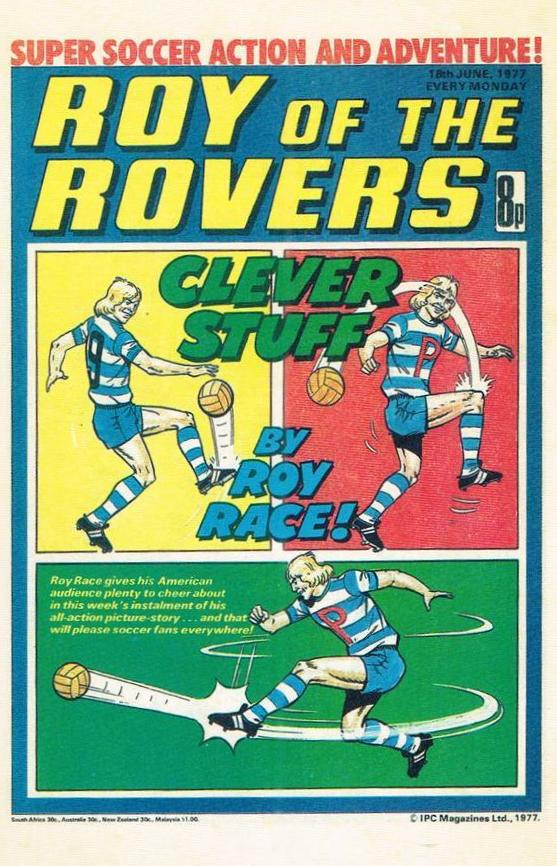 RR 33 - Comic Cover from 18th June 1977