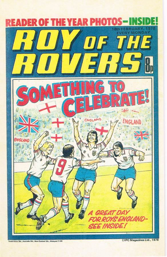RR 41 - Comic Cover from 18th February 1978