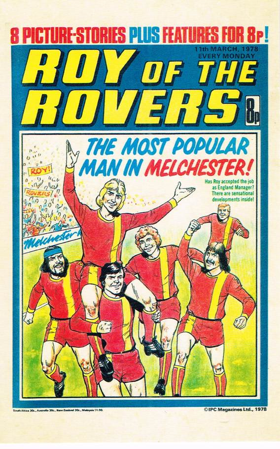 RR 43 - Comic Cover from 11th March 1978