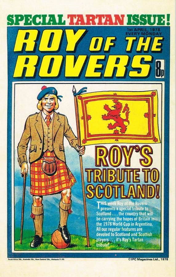 RR 44 - Comic Cover from 1st April 1978