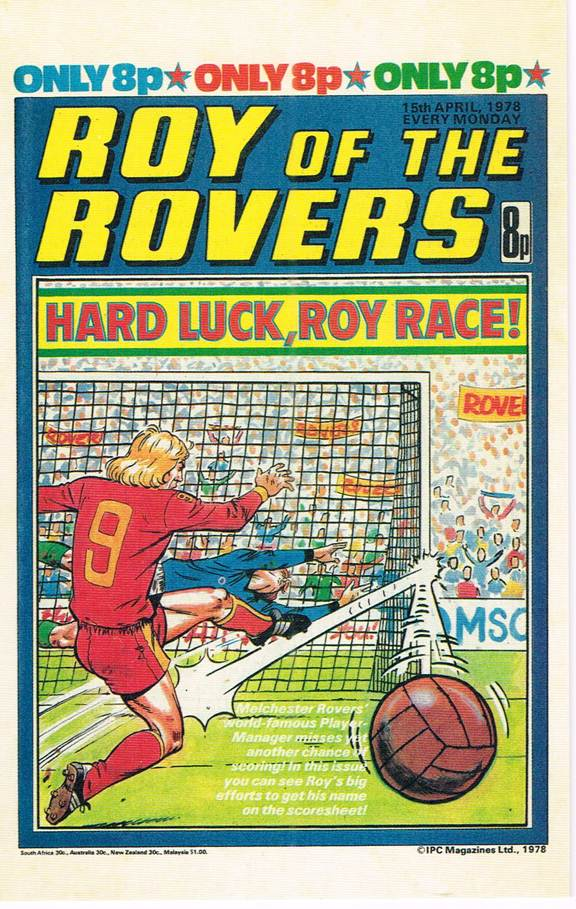 RR 45 - Comic Cover from 15th April 1978