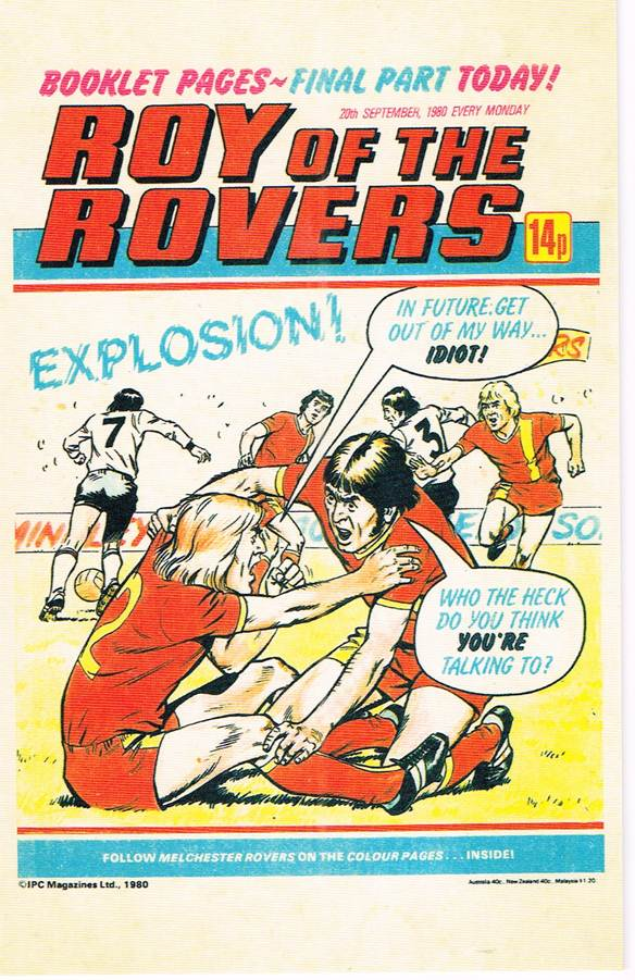 RR 49 - Comic Cover from 20th September 1980