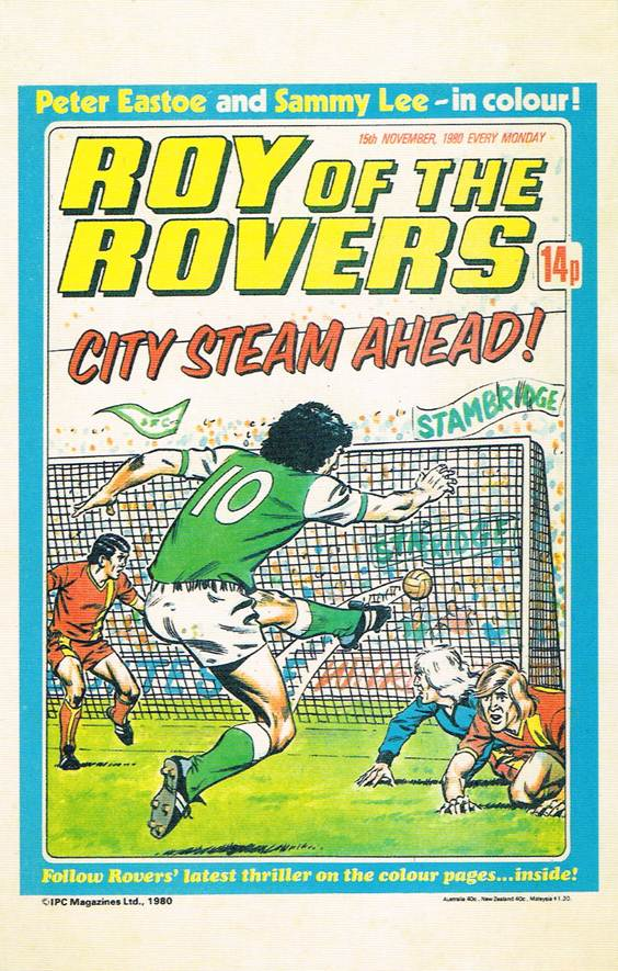RR 51 - Comic Cover from 15th November 1980