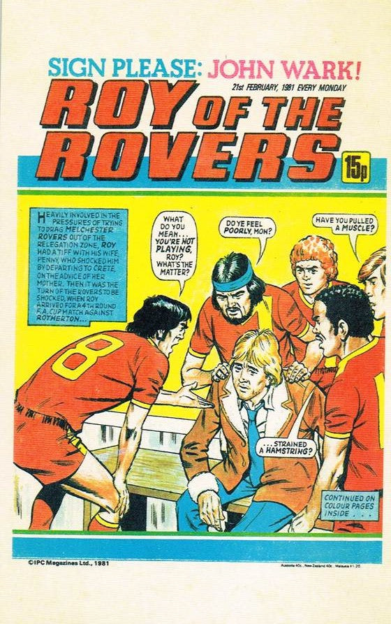 RR 54 - Comic Cover from 21st February 1981